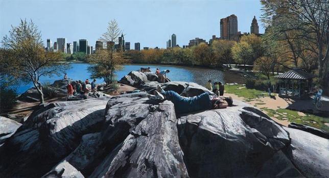 estes parc peinture paysage