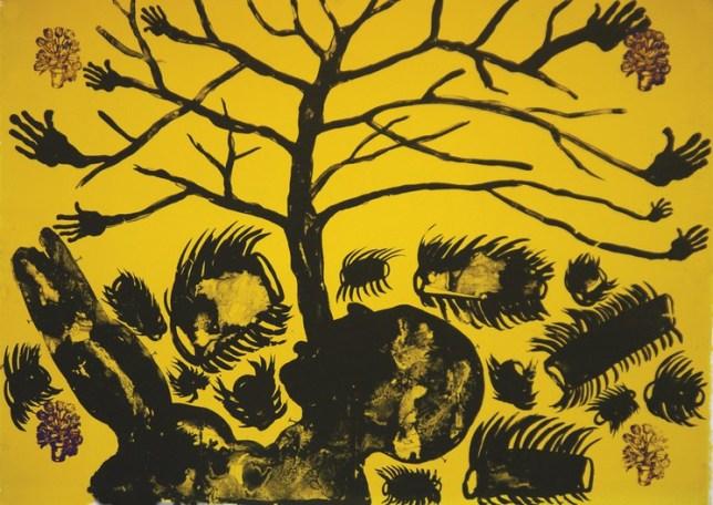 Barthélémy Toguo, Celebration of Love, 2014, available on Artsper