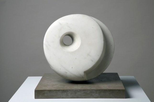 Pierced Hemisphere I, Barbara Hepworth, 1937