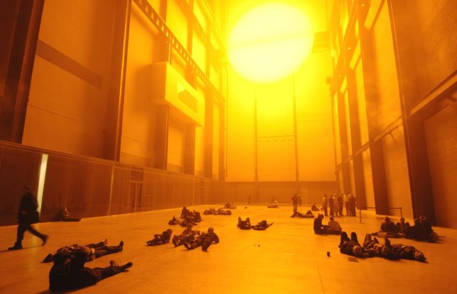 The Weather Project, Olafur Eliasson artistes engagés, 2003