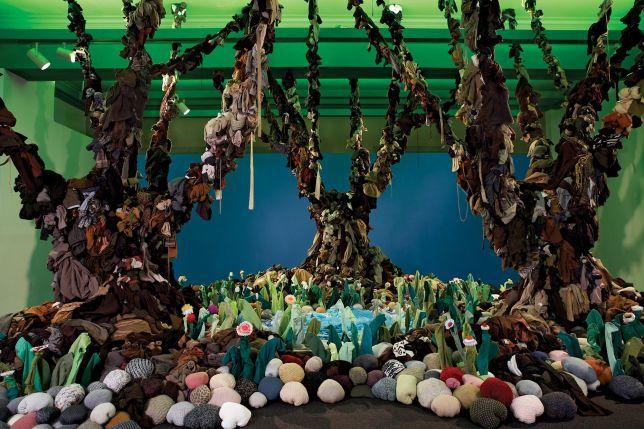 Guerra de la paz recyclage art écologique