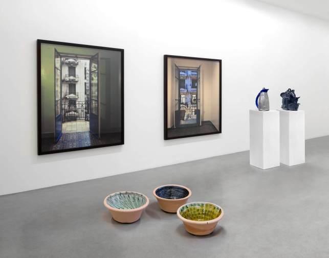Vue de «From Home», salle en ligne, kamel mennour, 2020 © Photo. archives kamel mennour, Paris / Londres