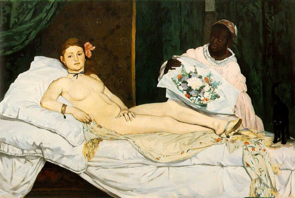 Manet nude scandal art