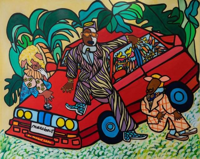 Enfant artistes africains