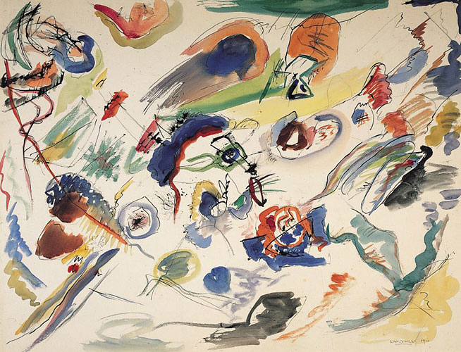 Who is the father of abstract art?