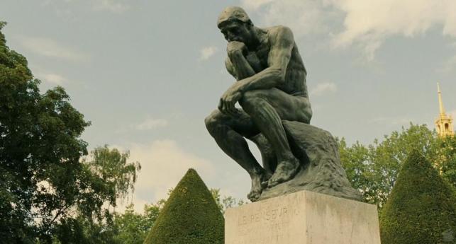 The Thinker, Auguste Rodin (in Midnight in Paris, Woody Allen)