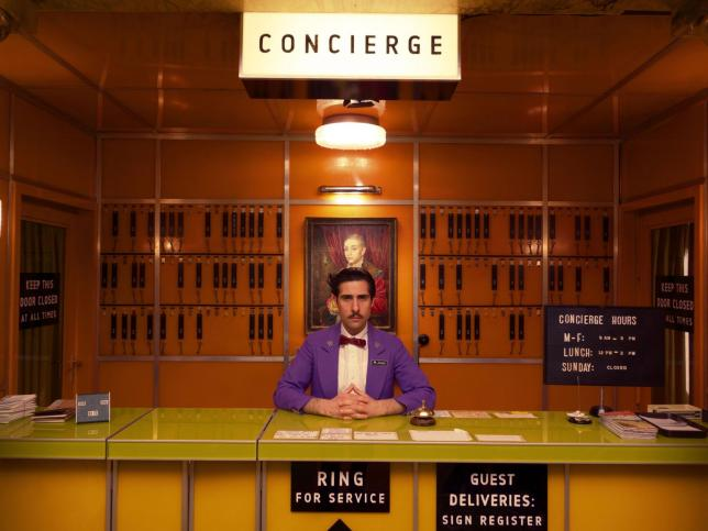 The Grand Budapest Hotel, Wes Anderson (with Boy with Apple)
