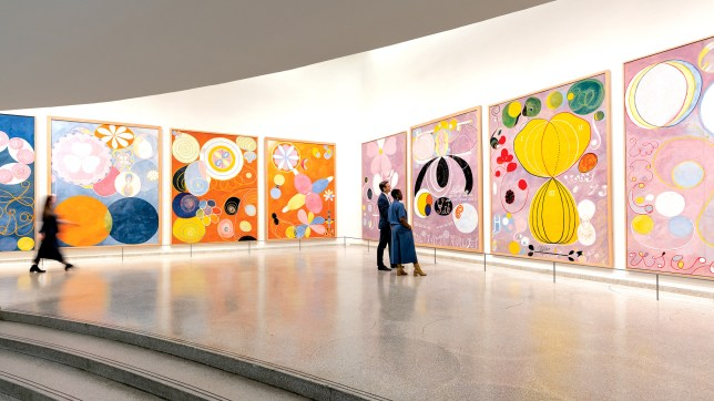 Hilma af Klint at the Guggenheim Museum in New York