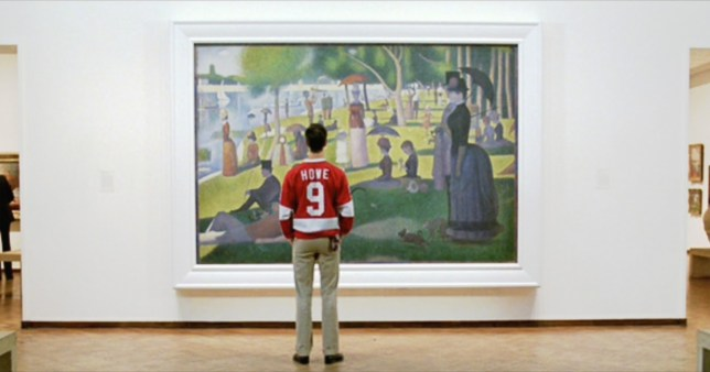 A Sunday Afternoon on the Island of La Grande Jatte, Georges Seurat (in Ferris Bueller's Day Off, John Hughes)