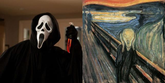 Scream art and film