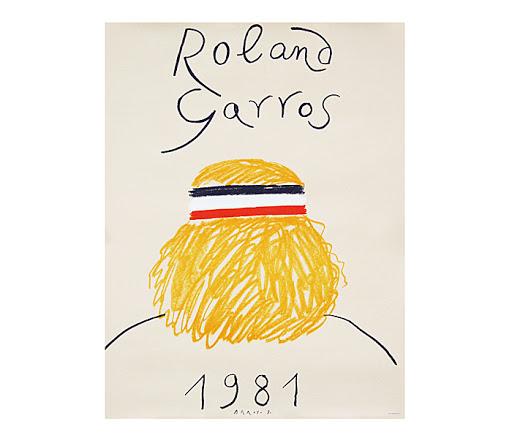 Roland Garros French Open, 1981, Eduardo Arroyo