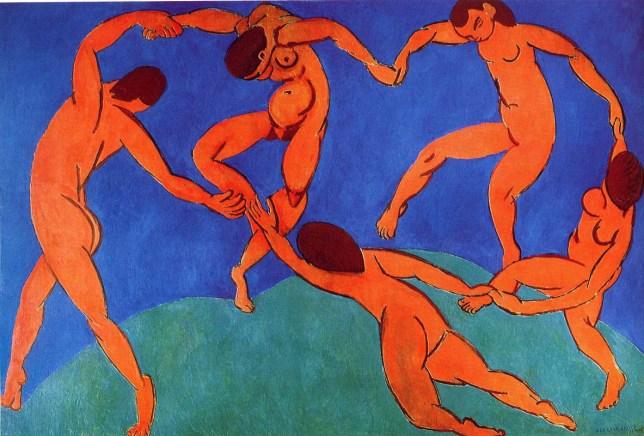 Henri Matisse, La danse, 1909-10