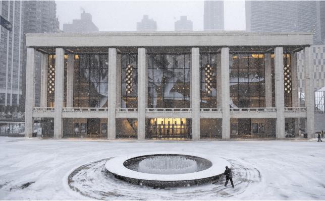JR au Lincoln Center de New York