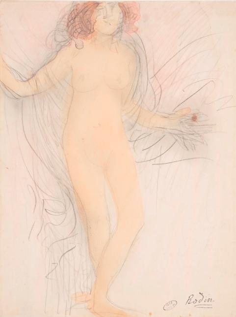 Auguste Rodin, Femme nue debout, de face