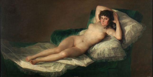 Francisco de Goya, la maja dénudée, sexualité, scandale, Romantisme