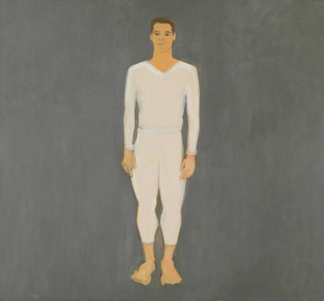 Portrait de Paul Taylor par Alex Katz danse