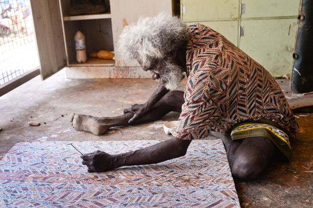 artiste aborigène glen namundja