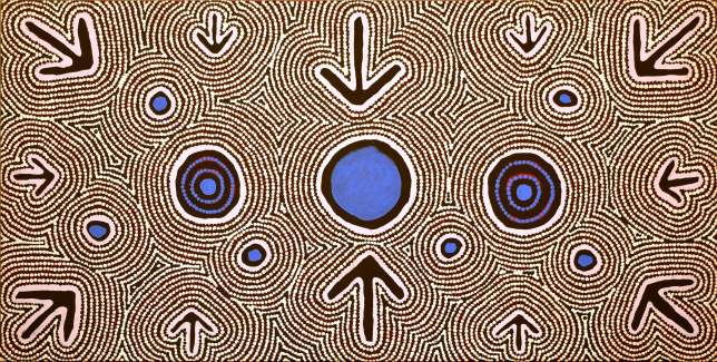Aboriginal art, Emu dreaming