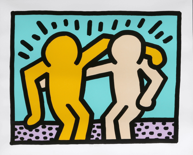 masterpieces, Best Buddies by Keith Haring