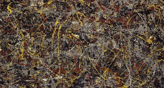 masterpieces, No.5 by Jackson Pollock