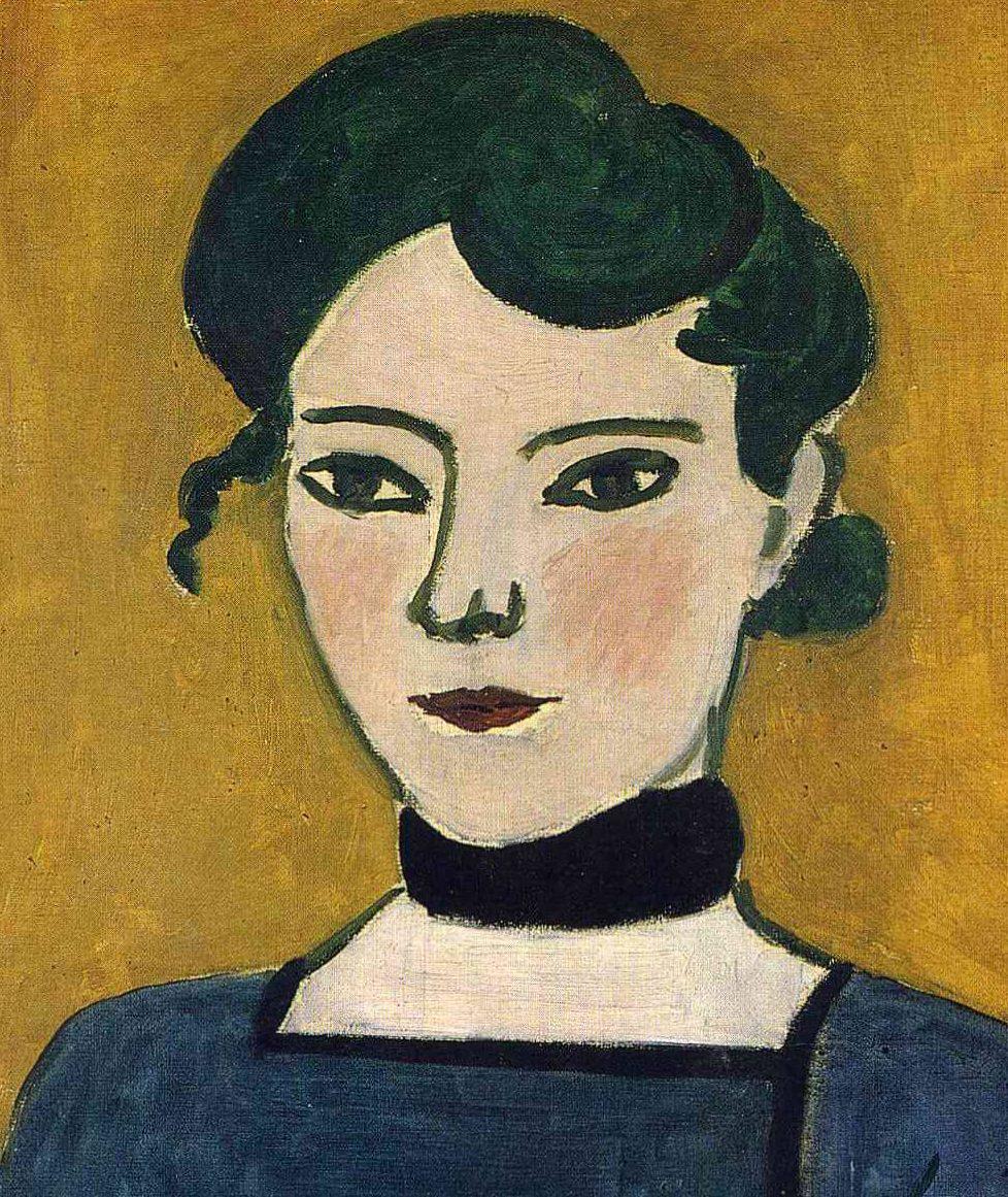 Portrait de Marguerite - Henri Matisse