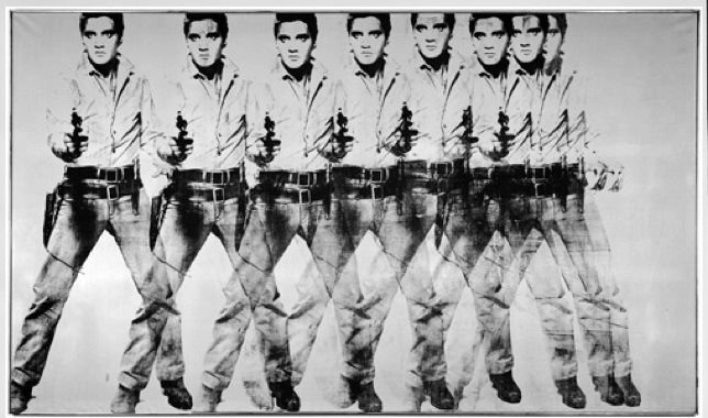 masterpieces, Eight Elvises by Andy Warhol