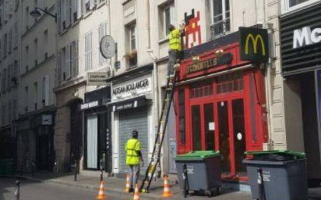 Les deux hommes s'étant fait passer pour des agents de la ville, source : le parisien