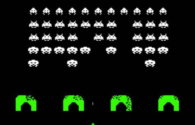 The video game of it's time: Space Invader, source: 20 minutes
