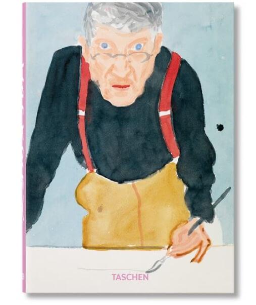 livre Hockney monographie biographie
