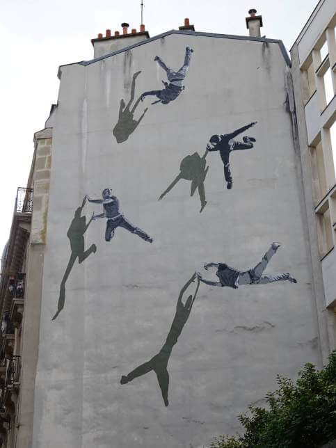 Chute libre, Anders Gjennestad, Paris