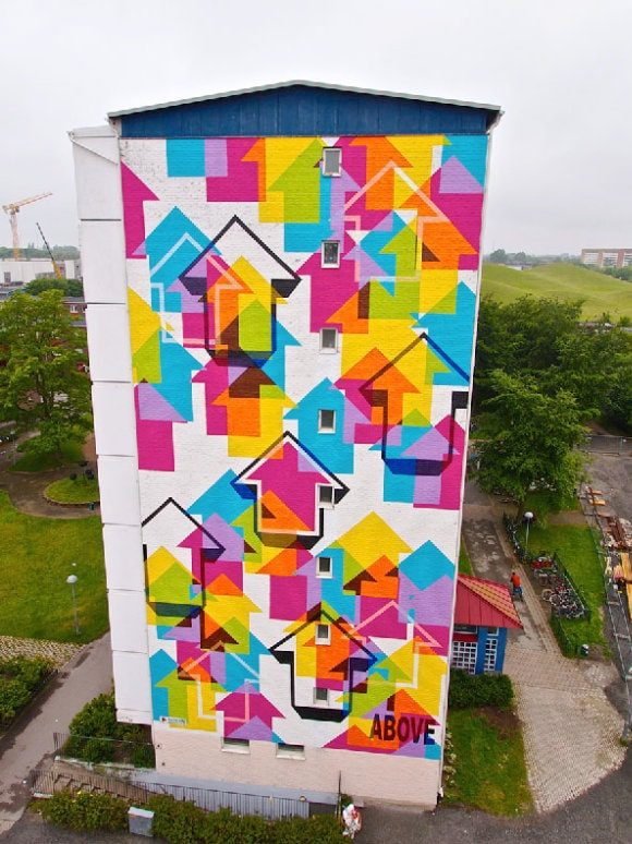 Mural by Tavar Zawacki as ABOVE