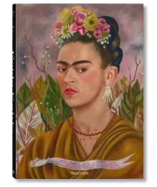 biography art book Frida kahlo