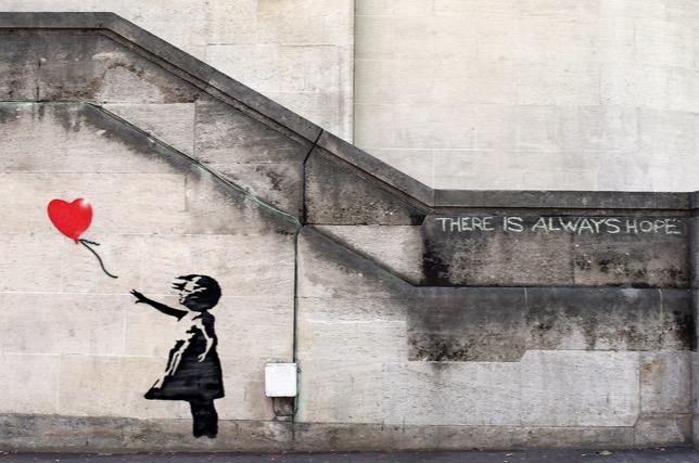 Balloon Girl, Banksy