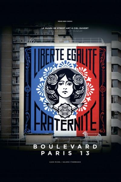 livre de street art Boulevard Paris 13, Mehdi Ben