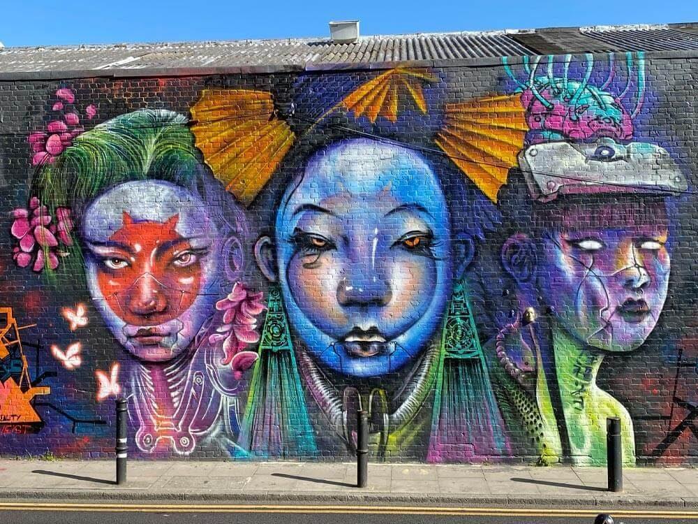 Jim Vision, Hanbury Street