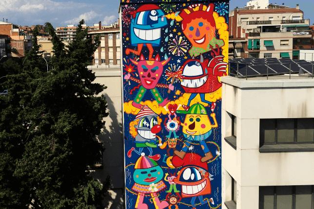 Cultura Popular (2015), El Pez, Sant Adria de Besòs