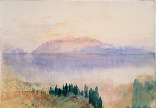 impressionnist watercolor william turner landscape