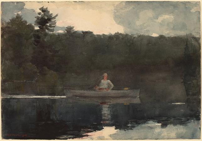 Winslow Homer, Le pêcheur solitaire