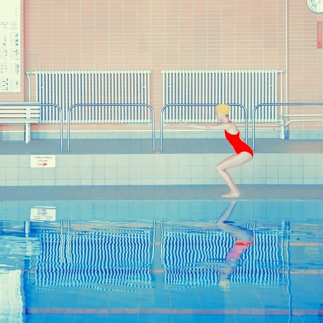 Swimming pools photography Maria Švarbová