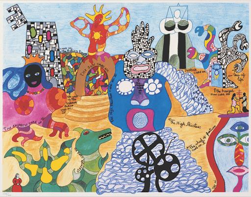 Niki de Saint Phalle. Tarot Garden exhibition