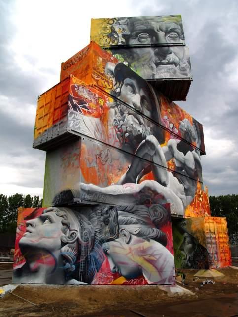 Pichi and avo, Northwest Walls Festival