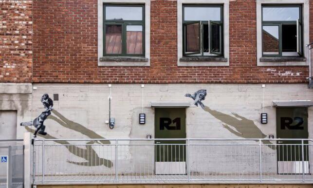 Anders Gjennestad, Porsgrunn, Norway, 2013, optical illusions