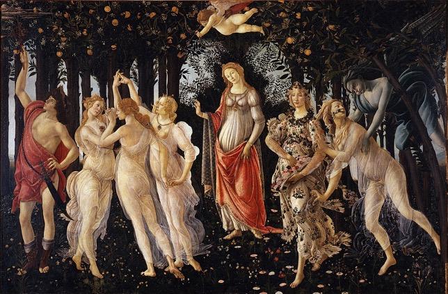 Le Printemps, de Sandro Botticelli