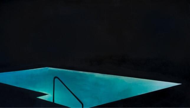 Robert Bingaman, Pool 9 swimming pool painting
