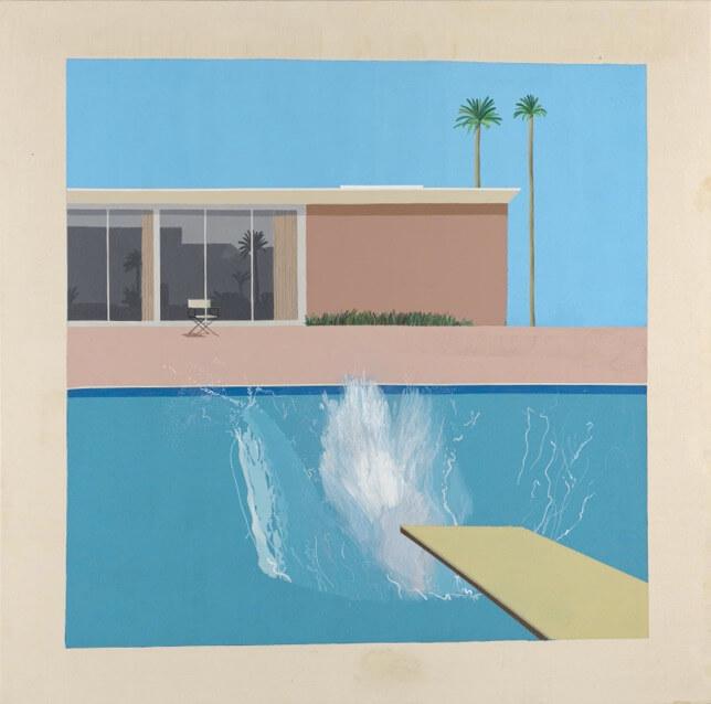 David Hockney, A Bigger Splash, 1963