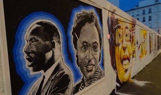 Rosa Parks fait le mur à Aubervilliers