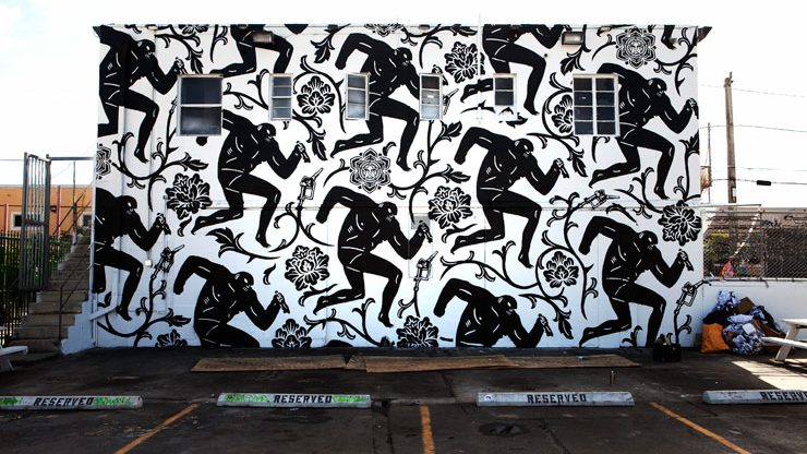 Mural by Cleon Peterson