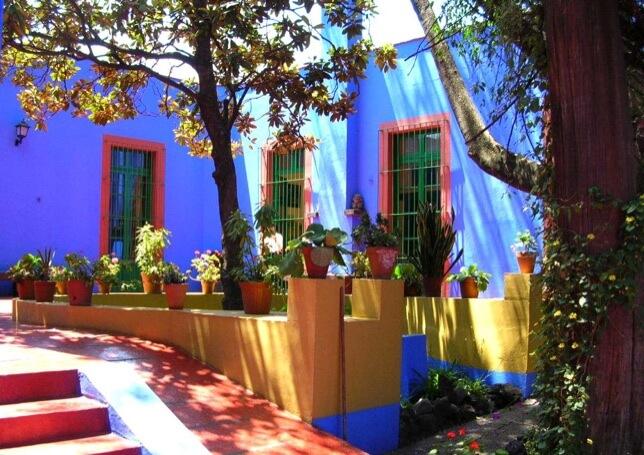 Casa Azul Frida Kahlo house