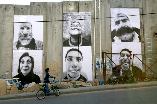 Face 2 Face, JR, 2007 - Gaza Wall