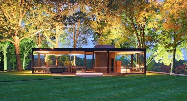 Maison de verre de Philip Johnson